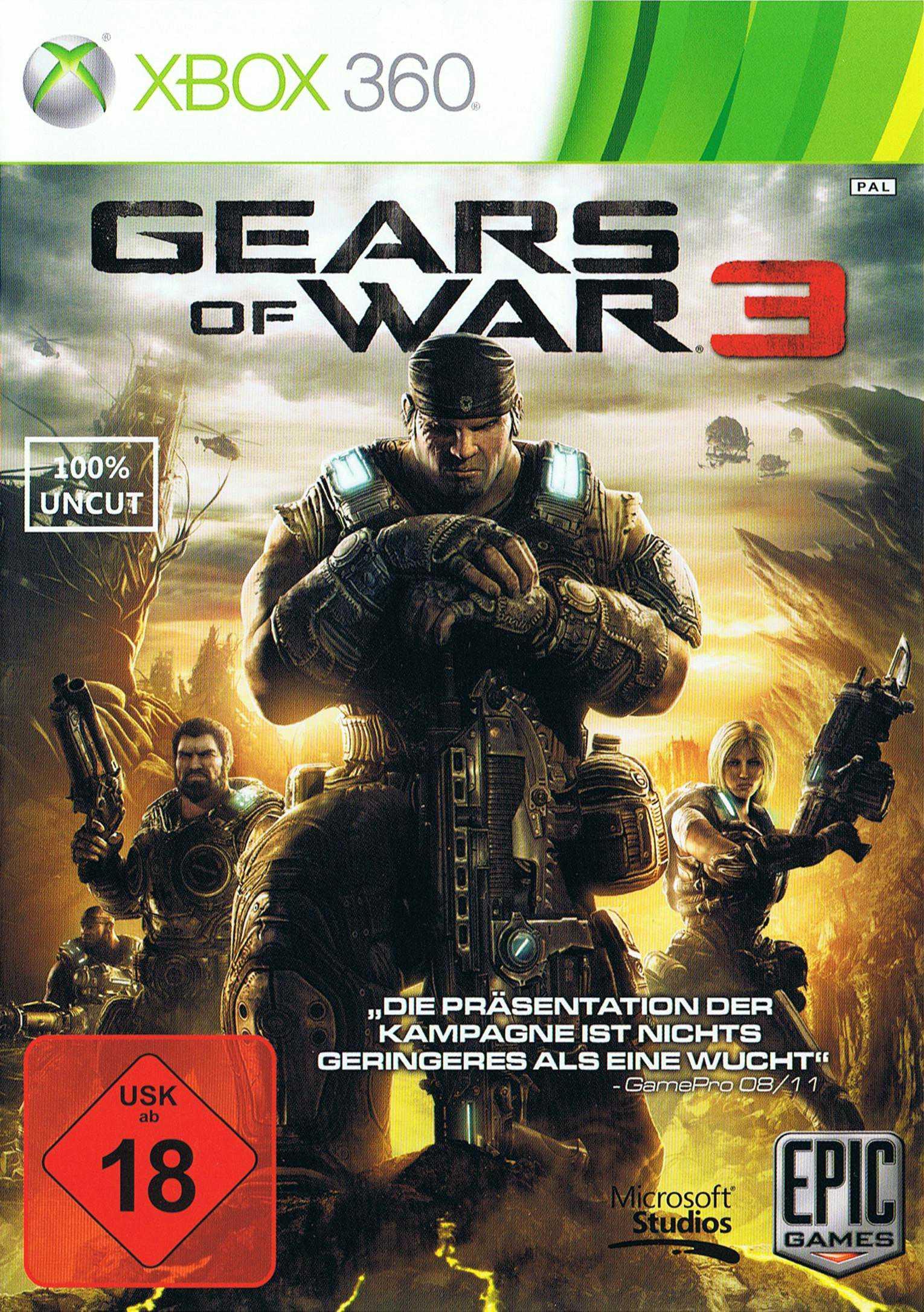 gears of war 2 spieler slot