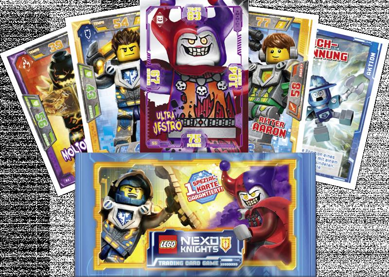 Lego Nexo Knights Trading Card Game Booster