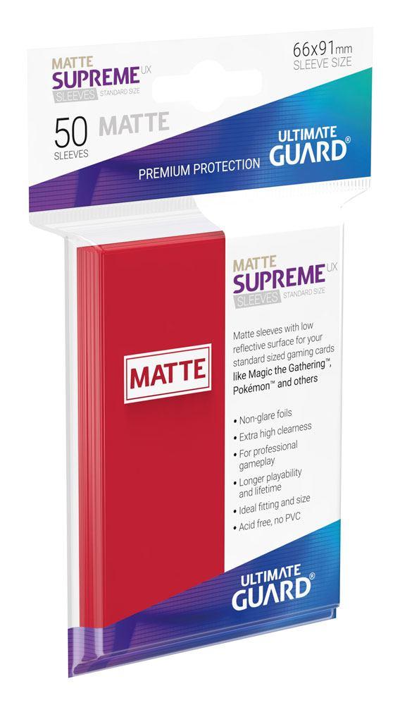 Schutzhüllen Rot 50 Stk. Ultra Pro Pro-Matte Sleeves