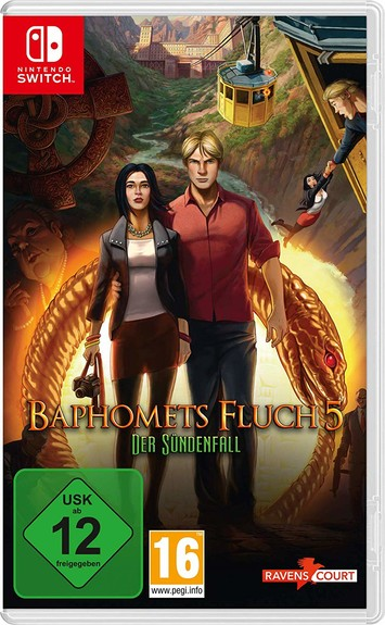 Baphomets Fluch 5 - Nintendo Switch