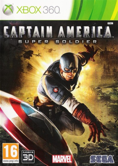 Captain America: Super Soldier Xbox 360  UK