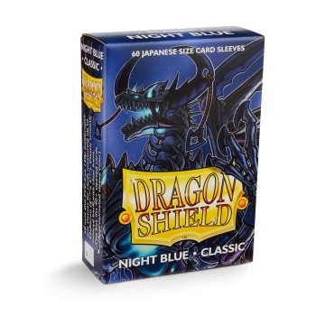 Classic Night Blue: Dragon Shield Small Sleeves (60 Stk)