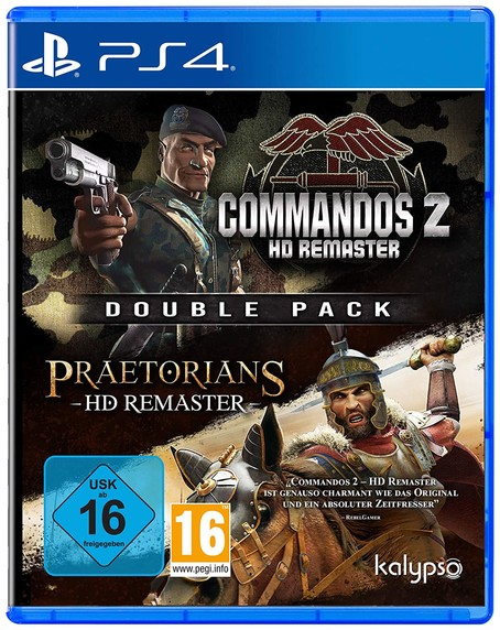 Commandos 2 + Praetorians HD-Remasteres  PS4