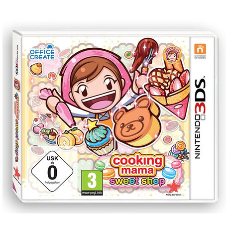 Cooking Mama - Sweet Shop!  3DS