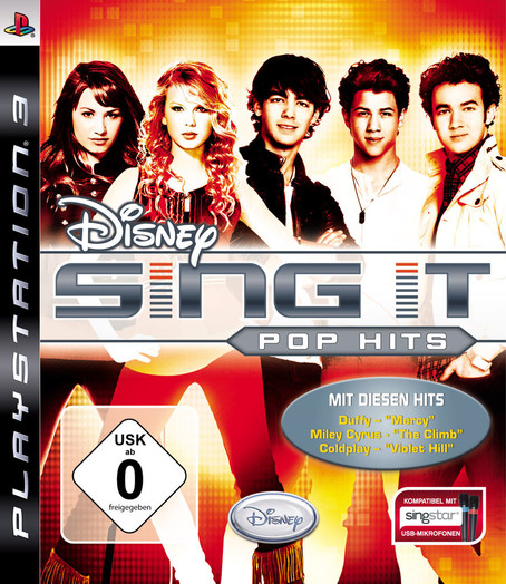 Disney Sing it Pop Hits  PS3