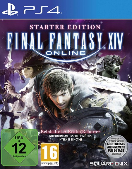 Final Fantasy XIV (FF14) Starter Edition  PS4