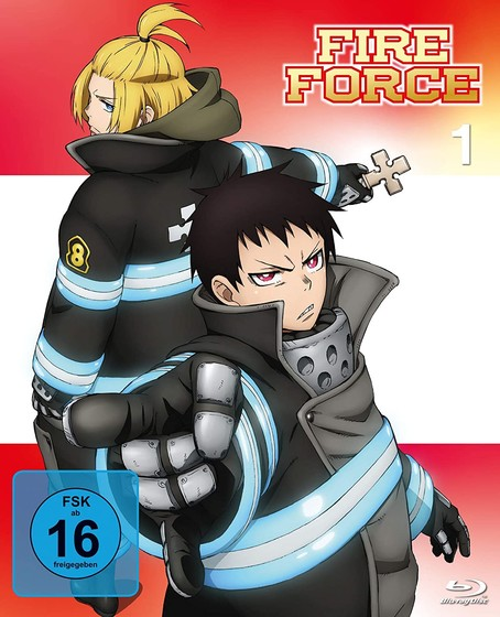 Fire Force - Volume 1 Blu-Ray