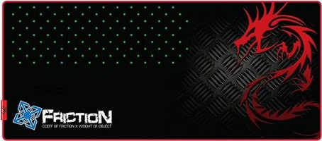 Friction XXL Gaming Mouse Mat Red