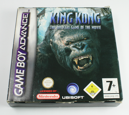 King Kong - The official Game of the Movie  GBA