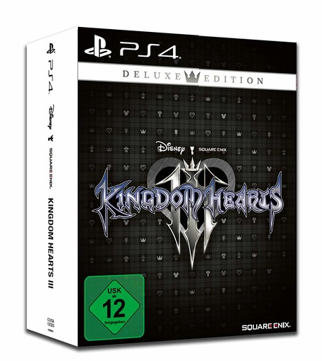 Kingdom Hearts 3 III Deluxe Ed. PS4