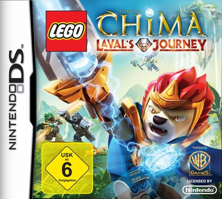 LEGO Legends of Chima: Lavals Journey NDS