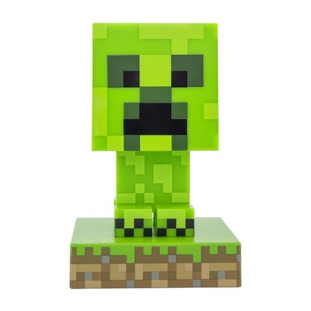 Minecraft Creeper 3D Lampe