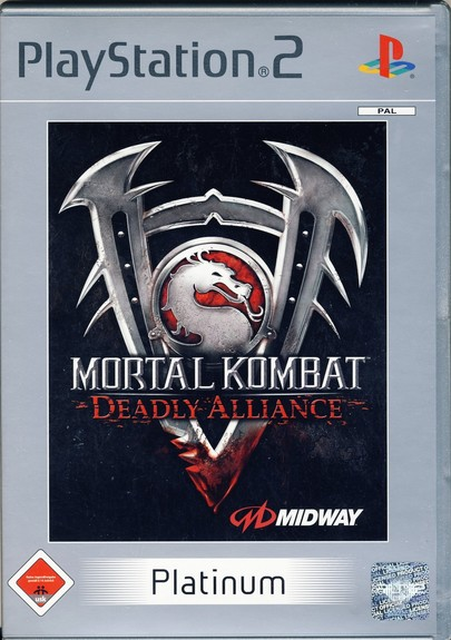 Mortal Kombat: Deadly Alliance - Platinum PS2