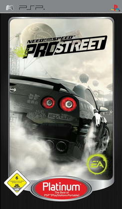 Need for Speed ProStreet (Platinum)  PSP