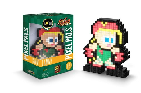 Novelty - Pixel Pals - Street Fighter - Cammy