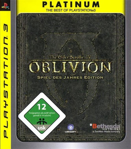 Oblivion GOTY - Platinum PS3