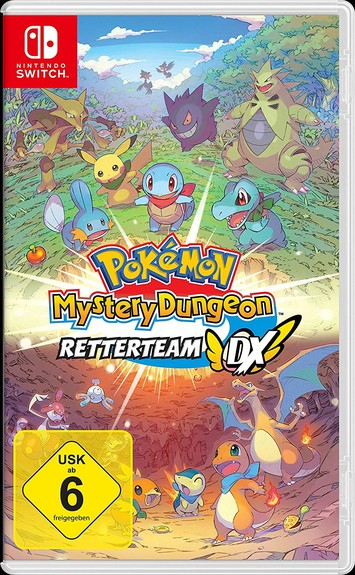 Pokémon Mystery Dungeon: Retterteam DX  SWITCH