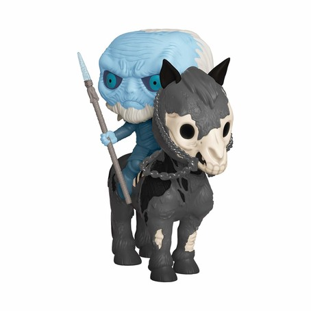 POP! Rides: Game Of Thrones - Mounted White Walker
