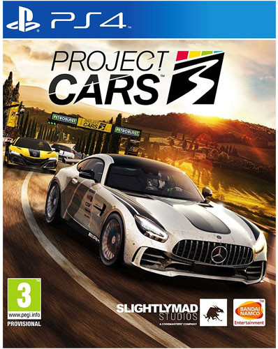 Project Cars 3  PEGI  PS4