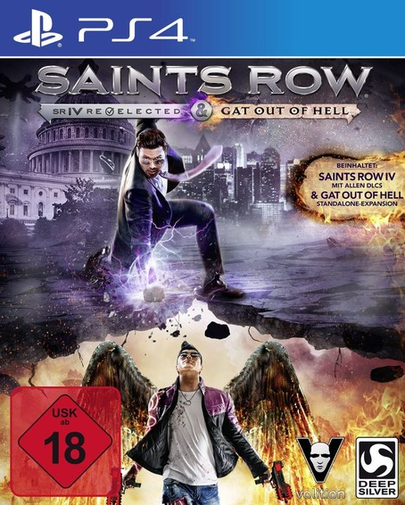 Saints Row IV Re-elected + Gat Out of Hell PS 4