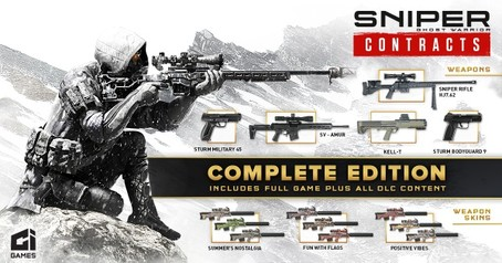 Sniper Ghost Warrior Contracts - Complete Edition  PS4