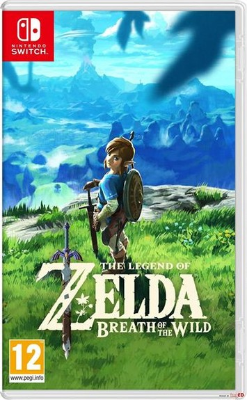 The Legend of Zelda: Breath of the Wild PEGI Switch
