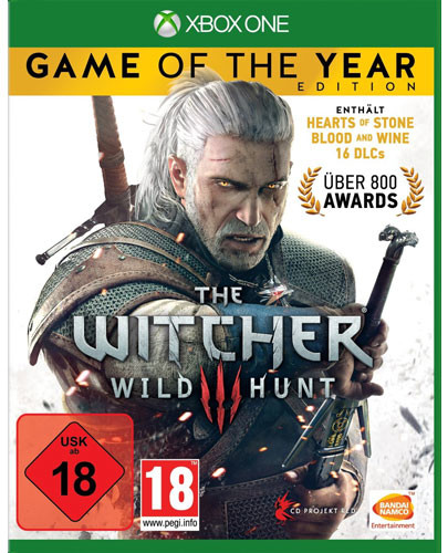 The Witcher 3: Wild Hunt - Game of the Year Edition XBO