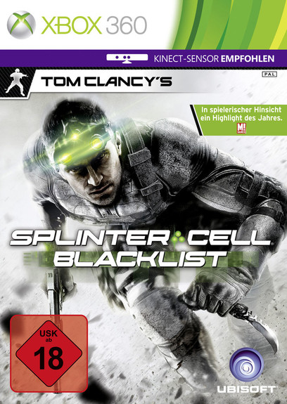 Tom Clancys Splinter Cell Blacklist  XB360