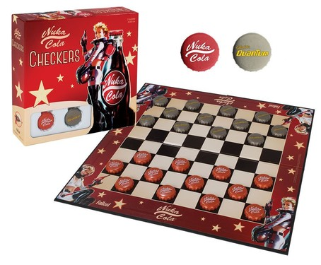 Toy - Board Game - Fallout Nuka Cola - Checkers