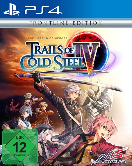 Trails of Cold Steel 4 (IV) Frontline Edt.  PS4