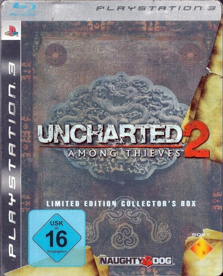 Uncharted 2: Among Thieves Limited Ed. Coll. Box PS3