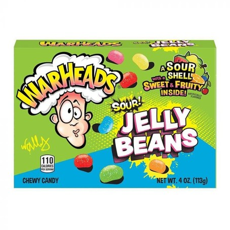 Warheads - Sour Jelly Beans 113g