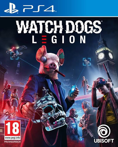 Watch Dogs Legion  AT  PS4