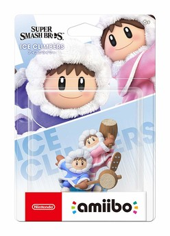 amiibo Ice Climber Super Smash Bros.