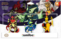 Amiibo Shovel Knight Triple Pack