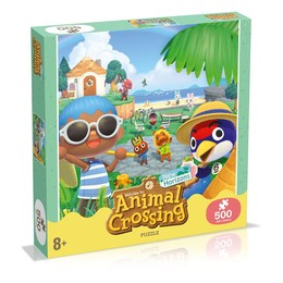 Animal Crossing New Horizons Puzzle - Charaktere (500 Teile)