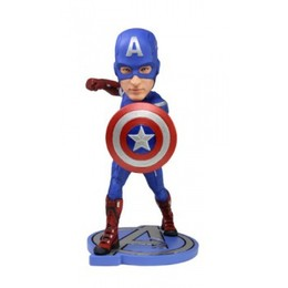 Captain America Headknocker Figur