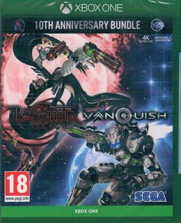 Bayonetta + Vanquish - 10th Anniversary Limited Edition  UK-Import