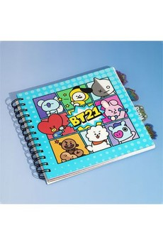 BT21 Charakter Notizbuch