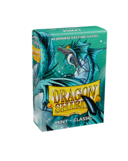 Dragon Shield Sleeves (60 Stk.) - Japanische Kartengröße - Classic Mint