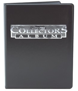 Ultra Pro Collectors Album - 4-Pocket Portfolio - Schwarz