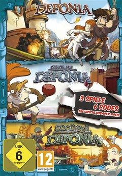 Deponia Family Pack - 3 Spiele