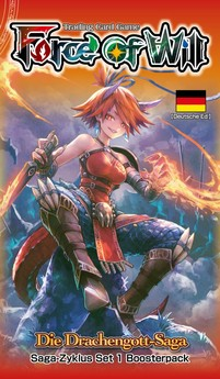 Force of Will: Die Drachengott-Saga (S1) - Booster - DE