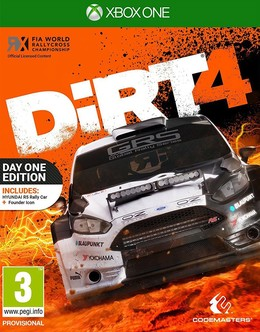Dirt 4 - Day One Edition UK-Import