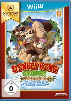 Donkey Kong Country Tropical Freeze SELECTS
