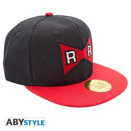 Dragonball Snapback Cap - Red Ribbon