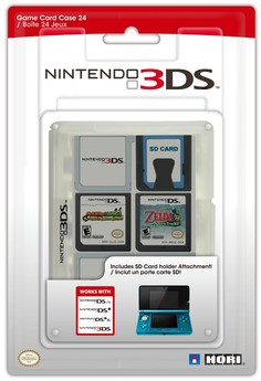 3DS Game Card Case 24 (transparent)