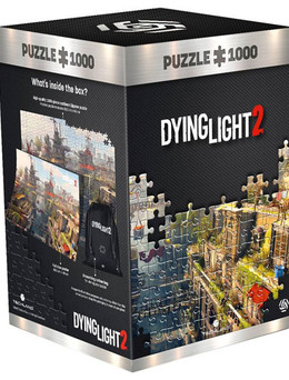 Dying Light 2 Puzzle Fan Paket - City (1000 Teile)