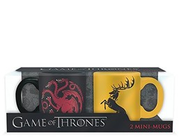 Game of Thrones Espresso -Tassen - Targaryen & Baratheon