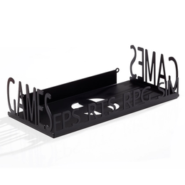 Games Wall Storage Schwarz